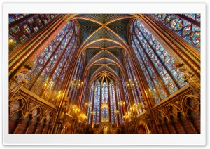 Cathedral Interior HD Wide Wallpaper for Widescreen