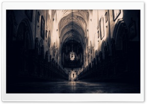 Cathedral Interior HD Wide Wallpaper for 4K UHD Widescreen desktop & smartphone