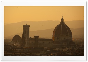 Cathedral of Saint Mary of the Flower, Florence, Italy HD Wide Wallpaper for Widescreen