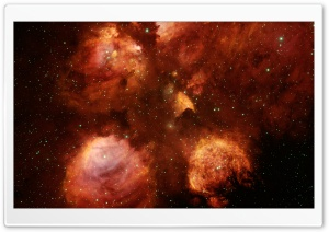 Cats Paw Nebula HD Wide Wallpaper for Widescreen
