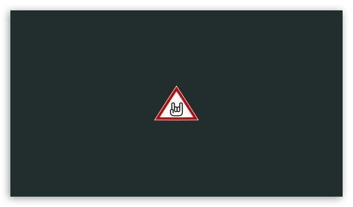 Caution Heavy Metal Ultra Hd Desktop Background Wallpaper For 4k Uhd Tv