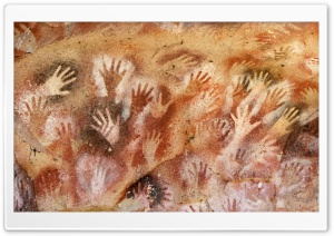 Cave Of Hands HD Wide Wallpaper for Widescreen