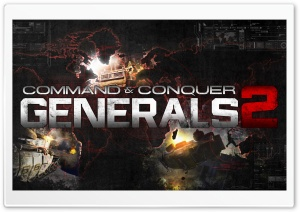 C&C Generals 2 HD Wide Wallpaper for Widescreen