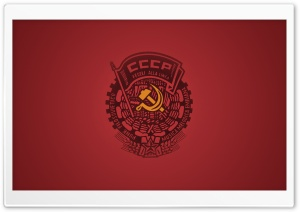 CCCP Flag Ultra HD Wallpaper for 4K UHD Widescreen desktop, tablet & smartphone