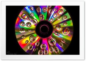 CD Rainbow Colors HD Wide Wallpaper for 4K UHD Widescreen desktop & smartphone