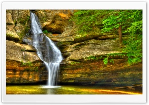 Cedar Falls HDR HD Wide Wallpaper for Widescreen