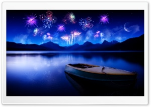 Celebrate New Year's Eve HD Wide Wallpaper for Widescreen