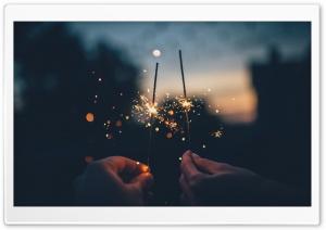 Celebrating New Year Ultra HD Wallpaper for 4K UHD Widescreen desktop, tablet & smartphone