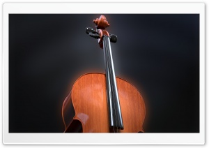 Cello Scroll Pegbox, Neck, Fingerboard HD Wide Wallpaper for 4K UHD Widescreen desktop & smartphone