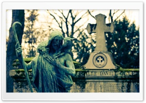 Cemetery HD Wide Wallpaper for Widescreen