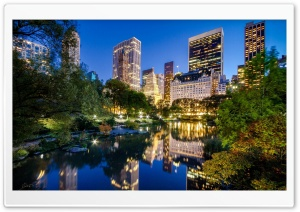 Central Park HD Wide Wallpaper for 4K UHD Widescreen desktop & smartphone