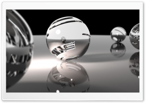 Ceramic Spheres HD Wide Wallpaper for Widescreen