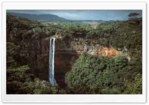 Chamarel Waterfalls, Mauritius Ultra HD Wallpaper for 4K UHD Widescreen desktop, tablet & smartphone