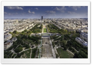 Champ de Mars, Paris, France HD Wide Wallpaper for 4K UHD Widescreen desktop & smartphone