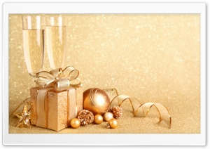 Champagne HD Wide Wallpaper for Widescreen