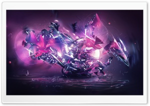 Chaos Art HD Wide Wallpaper for Widescreen
