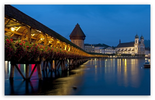 Chapel Bridge, Lucerne, Switzerland HD wallpaper for Wide 16:10 5:3 Widescreen WHXGA WQXGA WUXGA WXGA WGA ; HD 16:9 High Definition WQHD QWXGA 1080p 900p 720p QHD nHD ; Standard 4:3 5:4 3:2 Fullscreen UXGA XGA SVGA QSXGA SXGA DVGA HVGA HQVGA devices ( Apple PowerBook G4 iPhone 4 3G 3GS iPod Touch ) ; Tablet 1:1 ; iPad 1/2/Mini ; Mobile 4:3 5:3 3:2 16:9 5:4 - UXGA XGA SVGA WGA DVGA HVGA HQVGA devices ( Apple PowerBook G4 iPhone 4 3G 3GS iPod Touch ) WQHD QWXGA 1080p 900p 720p QHD nHD QSXGA SXGA ;