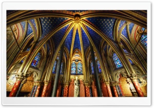Chapel Interior HD Wide Wallpaper for 4K UHD Widescreen desktop & smartphone