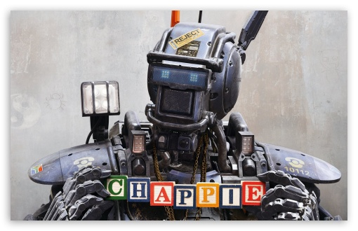 Chappie 2015 ❤ 4K UHD Wallpaper for Wide 16:10 5:3 Widescreen WHXGA WQXGA WUXGA WXGA WGA ; 4K UHD 16:9 Ultra High Definition 2160p 1440p 1080p 900p 720p ; Standard 4:3 5:4 3:2 Fullscreen UXGA XGA SVGA QSXGA SXGA DVGA HVGA HQVGA ( Apple PowerBook G4 iPhone 4 3G 3GS iPod Touch ) ; Tablet 1:1 ; iPad 1/2/Mini ; Mobile 4:3 5:3 3:2 16:9 5:4 - UXGA XGA SVGA WGA DVGA HVGA HQVGA ( Apple PowerBook G4 iPhone 4 3G 3GS iPod Touch ) 2160p 1440p 1080p 900p 720p QSXGA SXGA ;