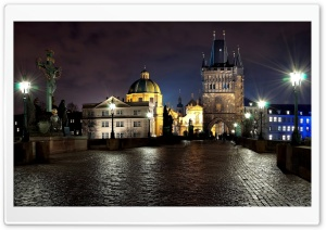 Charles Bridge HD Wide Wallpaper for 4K UHD Widescreen desktop & smartphone