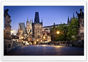 Charles Bridge HD Wide Wallpaper for Widescreen