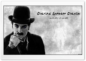 Charlie Chaplin HD Wide Wallpaper for 4K UHD Widescreen desktop & smartphone
