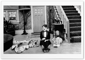 Charlie Chaplin Funny HD Wide Wallpaper for Widescreen