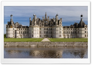 Chateau De Chambord France HD Wide Wallpaper for Widescreen