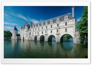 Chateau De Chenonceau HD Wide Wallpaper for Widescreen