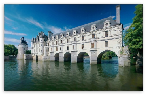 Chateau De Chenonceau HD wallpaper for Wide 16:10 5:3 Widescreen WHXGA WQXGA WUXGA WXGA WGA ; HD 16:9 High Definition WQHD QWXGA 1080p 900p 720p QHD nHD ; UHD 16:9 WQHD QWXGA 1080p 900p 720p QHD nHD ; Standard 4:3 3:2 Fullscreen UXGA XGA SVGA DVGA HVGA HQVGA devices ( Apple PowerBook G4 iPhone 4 3G 3GS iPod Touch ) ; iPad 1/2/Mini ; Mobile 4:3 5:3 3:2 16:9 - UXGA XGA SVGA WGA DVGA HVGA HQVGA devices ( Apple PowerBook G4 iPhone 4 3G 3GS iPod Touch ) WQHD QWXGA 1080p 900p 720p QHD nHD ;