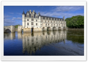 Chateau De Chenonceau France HD Wide Wallpaper for Widescreen