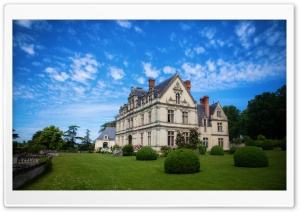Chateau De La Bourdaisiere, France HD Wide Wallpaper for Widescreen
