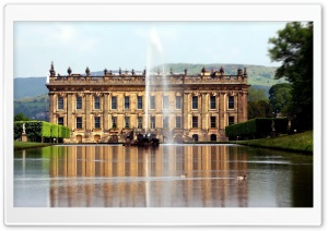 Chatsworth House HD Wide Wallpaper for 4K UHD Widescreen desktop & smartphone