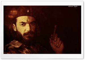 Che Guevara HD Wide Wallpaper for Widescreen