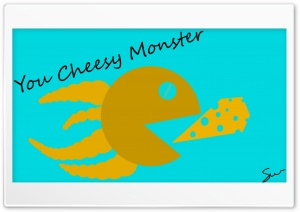 Cheese Monster HD Wide Wallpaper for 4K UHD Widescreen desktop & smartphone
