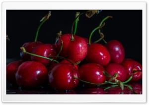Cherries HD Wide Wallpaper for Widescreen