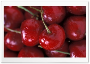 Cherries Close Up HD Wide Wallpaper for Widescreen