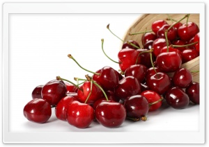 Cherry Fruit HD Wide Wallpaper for Widescreen