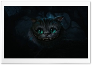 Cheshire Cat, Alice In Wonderland HD Wide Wallpaper for Widescreen