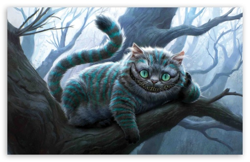 Cheshire Cat Artwork, Alice In Wonderland HD wallpaper for Wide 16:10 5:3 Widescreen WHXGA WQXGA WUXGA WXGA WGA ; HD 16:9 High Definition WQHD QWXGA 1080p 900p 720p QHD nHD ; Standard 4:3 5:4 Fullscreen UXGA XGA SVGA QSXGA SXGA ; iPad 1/2/Mini ; Mobile 4:3 5:3 5:4 - UXGA XGA SVGA WGA QSXGA SXGA ;