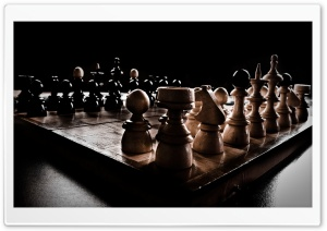 Chess Board HD Wide Wallpaper for Widescreen