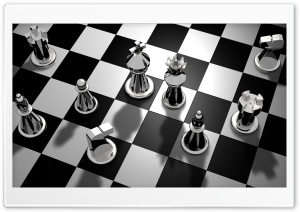 Chess Game HD Wide Wallpaper for 4K UHD Widescreen desktop & smartphone