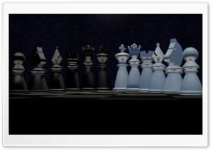 Chess Pieces HD Wide Wallpaper for 4K UHD Widescreen desktop & smartphone