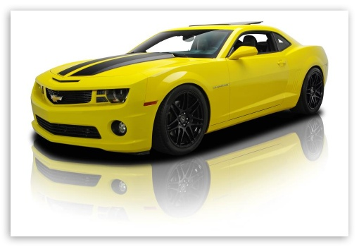 Download Chevrolet Camaro Bumblebee Edition HD Wallpaper