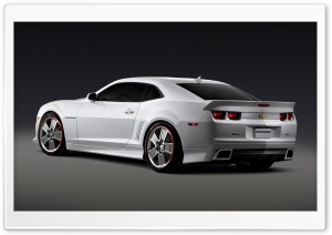 Chevrolet Camaro Chroma 2009   Rear View HD Wide Wallpaper for Widescreen