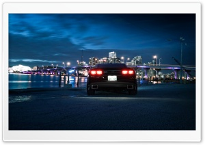 Chevrolet Camaro, City Night HD Wide Wallpaper for Widescreen