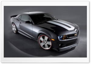 Chevrolet Camaro Gray HD Wide Wallpaper for Widescreen