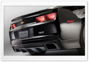 Chevrolet Camaro Rear HD Wide Wallpaper for Widescreen