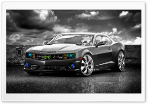 Chevrolet Camaro SS Edited HD Wide Wallpaper for 4K UHD Widescreen desktop & smartphone