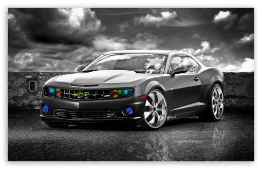 Download Chevrolet Camaro SS Edited UltraHD Wallpaper